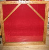Handmade Double flag shadow box in Camp Lejeune, North Carolina