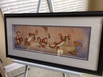 Disney Sericel Pooh and Tigger Limited Edition Production Cell with Auth. Certificate in Shorewood, Illinois
