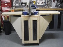 Perfect Order Customized Mobile Miter Saw Station With Side Wings In Camp Lejeune,  North Carolina