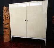 Mid Century Bone White Cabinet in Ramstein, Germany
