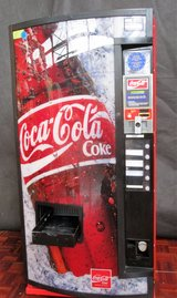 Coke Vending Machine Gutted to use as a Fridge, Light and Fridge work. in Ramstein, Germany