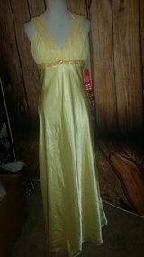 Yellow ball gown in Camp Pendleton, California