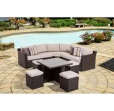 Miseno Naples Outdoor Furniture New! 8 pieces. in Travis AFB, California