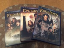 LORD OF THE RINGS Trilogy DVD in Okinawa, Japan