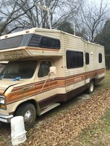 1985 RV  has water damage over the two front seats in Fort Campbell, Kentucky
