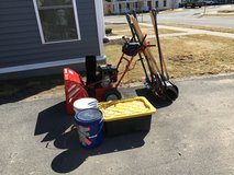 Two-Stage Snow Thrower in Watertown, New York