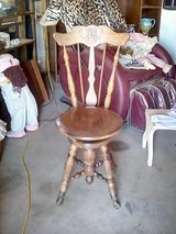 Antique chair in Yucca Valley, California