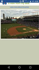 Cubs vs Yankees Friday 5/5 1:20 pm in Naperville, Illinois