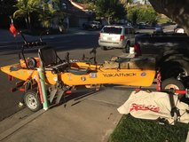 Hobie Pro Angler 14 fully rigged with trailer in Temecula, California