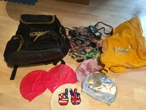 2 Speedo swim bags, caps, lots of goggles in Stuttgart, GE