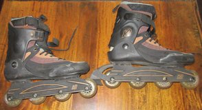 K2 Inline Skates Size: 10.5 with Carry Case & New Wheels in Ramstein, Germany
