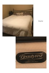 King Bed with Mattress in Fort Lewis, Washington