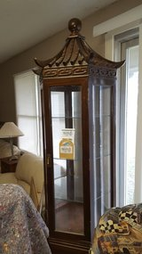 ANTIQUE ORIENTAL DISPLAY CASE WITH HUTCH in Perry, Georgia