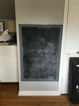 Large blackboard - magnetic with us map in Naperville, Illinois