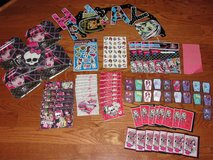 """""""MONSTER HIGH"""" DRACULAURA CLAWDEEN CLEO ABBY GHOULIA BIRTHDAY ITEMS in Camp Lejeune, North Carolina"""
