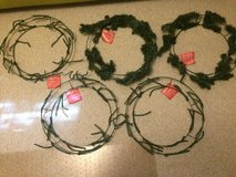 Christmas Wreath Supplies -- are you crafty? in Schaumburg, Illinois