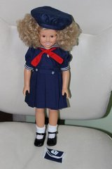 1991 Danbury Mint Shirley Temple dress up doll with outfits in Barstow, California