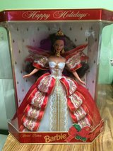 1997 Happy Holidays Barbie NIB in Barstow, California