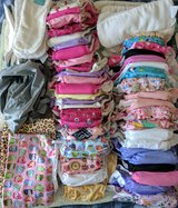 Lot of girls cloth diapers and extras in Byron, Georgia