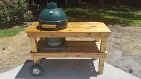 By Order - New Handmade Big Green Egg (or similar style) Table in Wilmington, North Carolina