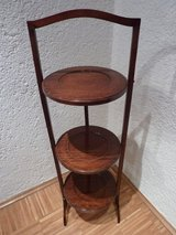 original english cake stand etagere mahogany foldable in Stuttgart, GE