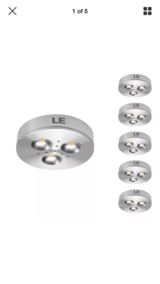 LE   Five pack brightest  LED  Undercabinet lighting in Fort Campbell, Kentucky