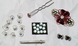 ASSORTED RHINESTONES HAIR JEWELRY in Lakenheath, UK