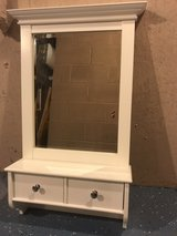 Mirror shelf with drawers in Elgin, Illinois