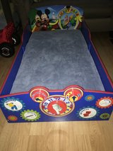 Mickey Mouse Toddler Bed in Travis AFB, California