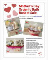 Mother's Day Organic Bath Baskets in bookoo, US