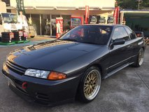 """ACE OF SPADES""- HKS T04 POWERED NOV/1992 NISSAN SKYLINE GTR- in Okinawa, Japan"