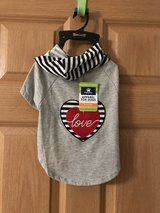Pet TShirt Hoodie with Heart in Tinley Park, Illinois
