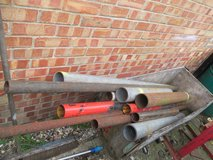 HEAVY GAUGE STEEL TUBING. VARIOUS LENGTHS AND DIAMETERS AVAILABLE. 5 GBP EACH. in Lakenheath, UK