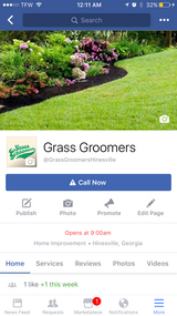 Lawn Care by Grass Groomers in Hinesville, Georgia
