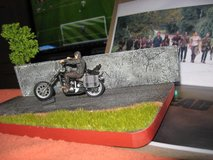 Diorama - The Walking Dead - Scale 1:32 - Daryl with Chopper in Ramstein, Germany