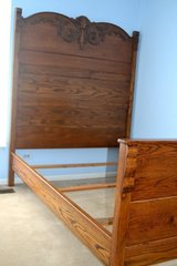 Antique Double Bed Frame (CIRCA 1900) in Lockport, Illinois