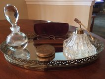 Antique Vanity Tray and Accessories in Lockport, Illinois