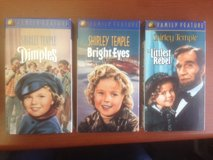 Collection of Shirley Temple VHS movies in West Orange, New Jersey