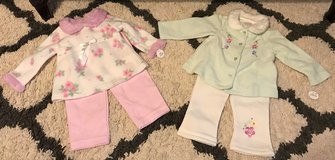 NWT Toddler girl's two clothes (12months) in Fort Benning, Georgia