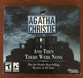 Agatha Christie: And Then There Were None, PC in Fort Leonard Wood, Missouri