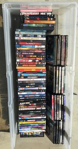 DVD's lot in Vacaville, California
