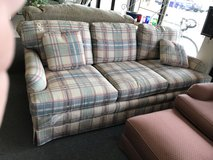 Plaid Sherrill Sofa in Naperville, Illinois