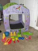 MELISSA AND DOUG SAND TENT & OUTSIDE TOYS in Camp Lejeune, North Carolina