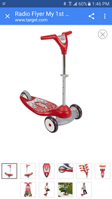NEW Radio flyer my first scooter in Joliet, Illinois