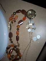 JLO brown set/   NEW  yellow pearl/ in Morris, Illinois