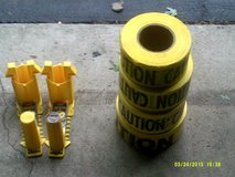 """3"""" X 500 FT.  Caution Tape Wih 2- Holders in Shorewood, Illinois"""