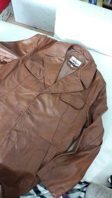 Man's Leather Coat real in Ramstein, Germany
