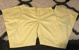 Yellow Dress pants size Small in Fort Benning, Georgia