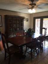 Dining Table and China Cabinet in Alamogordo, New Mexico