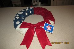 Perfect Wreath For Memorial Day & 4th Of July in Kingwood, Texas